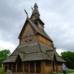 Hopperstad church replica