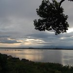 View of Mekong at sunrise