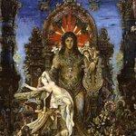 La mythologie grecque interprétée par Gustave: Zeus et Léda