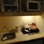 Cozinha e todos utensílios que precisamos.