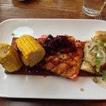Cedar PlankGrilled Pacific Salmon