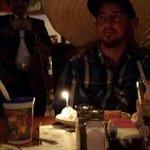 They sing happy birthday & put a giant sombrero on u for birthdays! So fun!