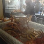 steaming street crab!