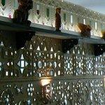 Kalpna's remarkable mirrorwork,Gujarati work that is as genuine as the food.