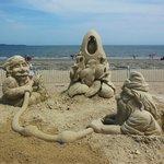 Revere Beach, Revere, MA - Sand Sculptures 2013