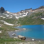 Another view of Ice Lake Basin