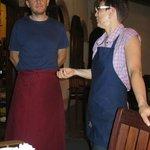 Albert + Erika/ ganz tolle Gastgeber/er kocht und sie empfiehlt....