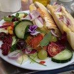Lovely lunch. Yum Yum.