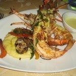 Cena ristorante sul mare