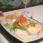 Small local fish platter