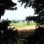 Strumpshaw footpath across the fields