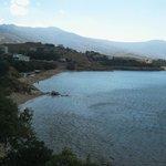 Vue est (plage) sur la baie de la chambre d'angle (210)