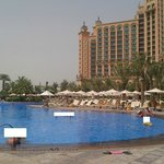 main pool in front