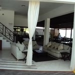 sea view dining area