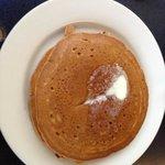 sweet potato pancakes with pecans