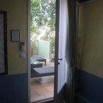 Room 29 - view out to private balcony