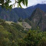 Machu Picchu from the Sun Gate Trail.