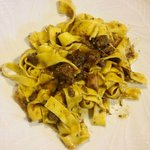Tagliatelle with slow cooked beef ragu