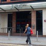 Main entrance Jurys Inn Leeds