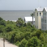 View from Widow's walk towards beach