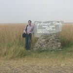 At the airstrip