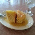 House made honey butter cornbread