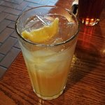 half n half.  half lemonade, half tea