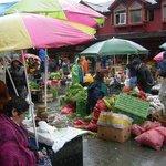 mercado Angelmo ,un sabado