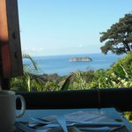 View from breakfast table, outstanding start of the day