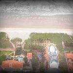 Ariel Landscape of Canoa Beach Hotel