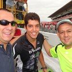 """En el """"pit lane"""" con un volante venezolano"""