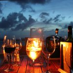 Dining on a Terrace