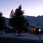 Mt View Winter Twilight