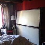 Chambre avec vue sur les lits d'appoint !