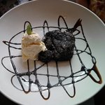 Chocolate Brownie with Ice Cream