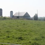Pasture and family barn