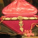 Jewels on display