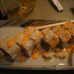 Yummy Spicey Salmon Sushi Rolls