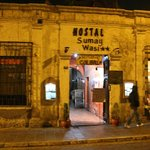 The Colibri restaurant is inside the Hostal Sumay Wasi