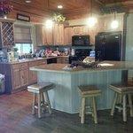 Spring Cabin kitchen