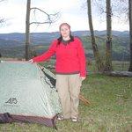 Nice campsite on Jacks Creek Trail
