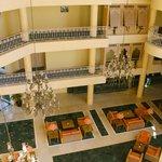 Lobby - Aussicht aus dem 4. Stock