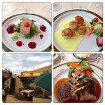Excellent food at L'orange