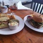 Chicken sandwich and tavern burger were very good!
