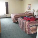 Bedroom of our Queen suite