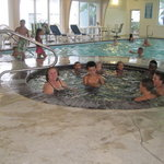 Whirlpool area and pool