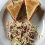 BLT and Coleslaw