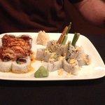 volcano roll& shrimp tempura
