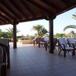 terrasse du lobby-bar