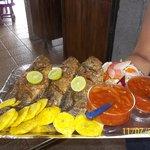 Pescados fritos del Lago Cocibolca / Fried fishes from Cocibolca Lake